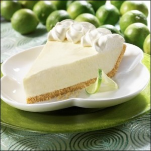 Key Lime Pie, the perfect dessert on a warm summer day