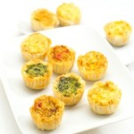 Quiche Assortment Hors d'oeuvres